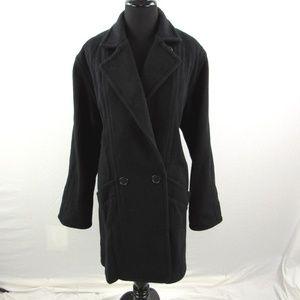 LL Bean Wool Blend Over Coat